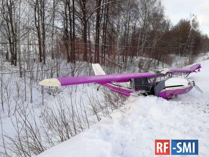 В Марийской Республике совершил жесткую посадку легкомоторный самолет