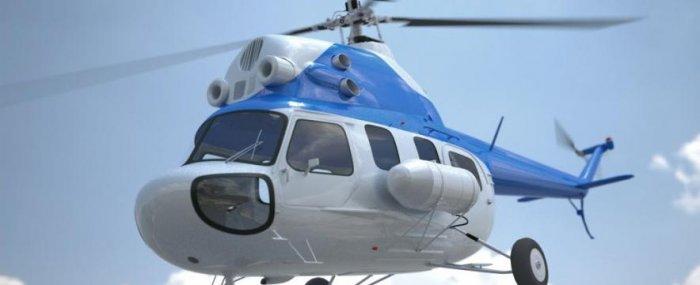 В Татарстане совершил вынужденную посадку вертолет МИ-2