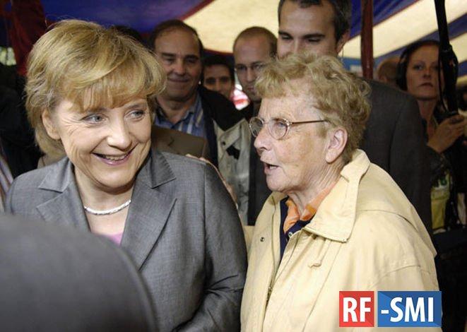 Умерла мать канцлера Германии Ангелы Меркель