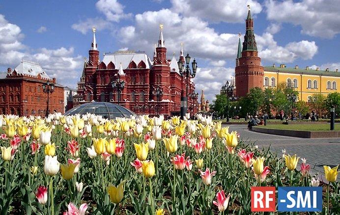 Четверг в Москве будет самым теплым днем этой недели