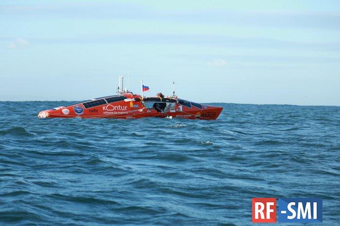 Шторм в Южном океане перевернул лодку путешественника Федора Конюхова