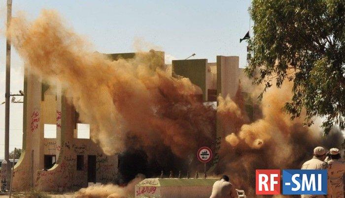 США выводят свой военный контингент из Ливии