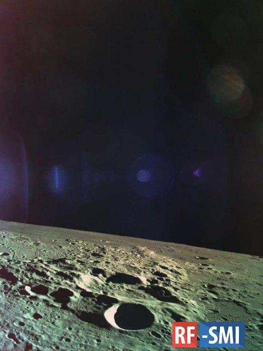 Луна отказалась принимать израильский космический аппарат.....
