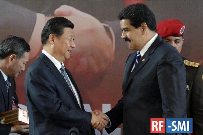 Китай не собирается отмалчиваться в Венесуэле.....