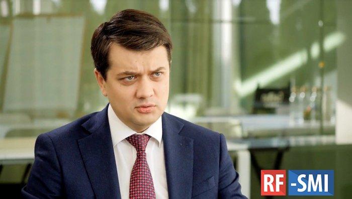 В эту Раду представление об отставке Юрия Луценко вносить не будем - Разумков