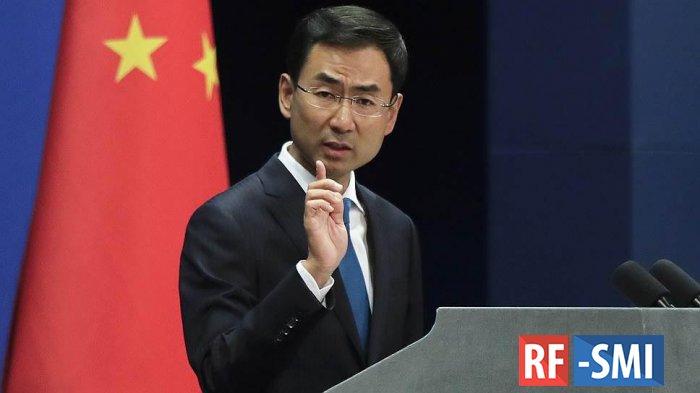 Китай сделал представление США из-за санкций на покупку иранской нефти