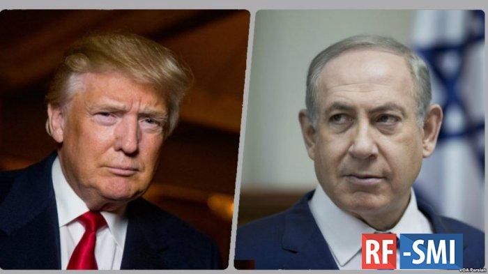 Нетаньяху пообещал назвать населенный пункт на Голанских высотах в честь Трампа