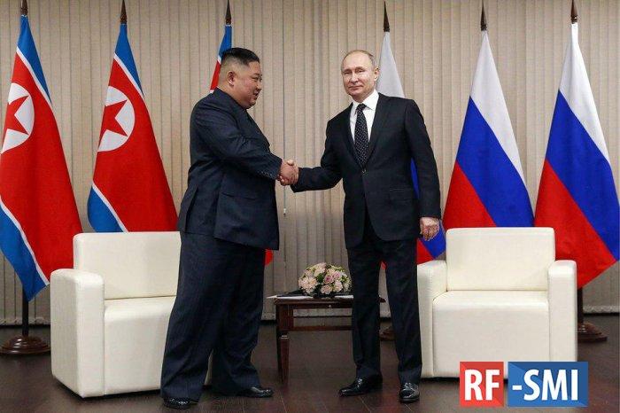 Во Владивостоке началась встреча Владимира Путина и Ким Чен Ына