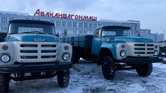 В России появились в продаже легендарные «Крокодилы» ЗИЛ-133