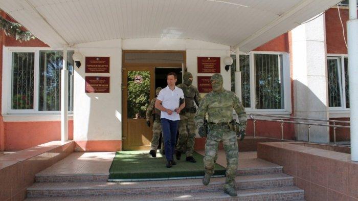 Замглавы администрации г. Людиново  В. Фарутин задержан сотрудниками ФСБ
