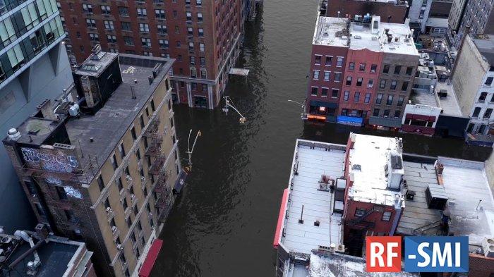 Шанхай и Нью-Йорк могут оказаться под водой из-за климатических изменений