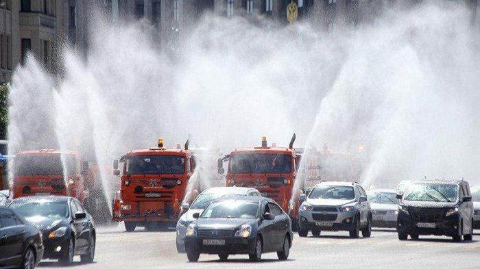 В Москве на сегодня и завтра продлили «оранжевый» уровень опасности