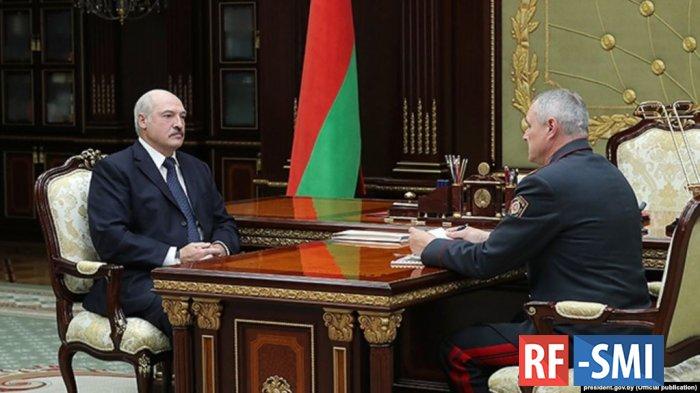 Александр Лукашенко отправил Главу МВД Белоруссии  в отставку.