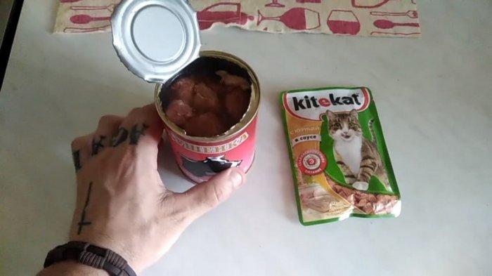 Житель Башкирии начал питаться кормом для кошек