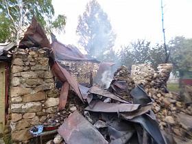 В рязанском селе в жилом доме взорвался баллон с газом