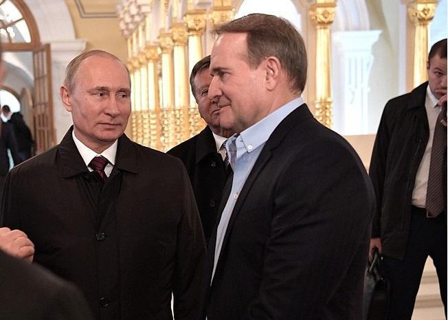 Путин напомнил о укронационалистическом прошлом семьи Медведчука