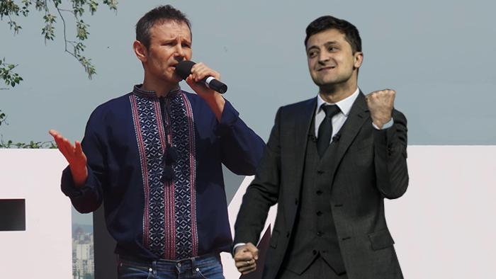 Зеленский предложил партии Вакарчука парламентскую коалицию