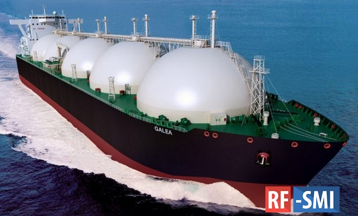 Цена на газ в Азии побила рекорд из-за резкого похолодания