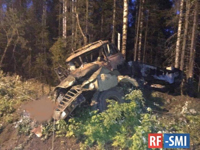 Водитель взорвавшегося в Свердловской области бензовоза задержан