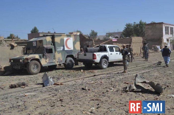 Двенадцать человек погибли в афганском Газни от взрыва автомобиля