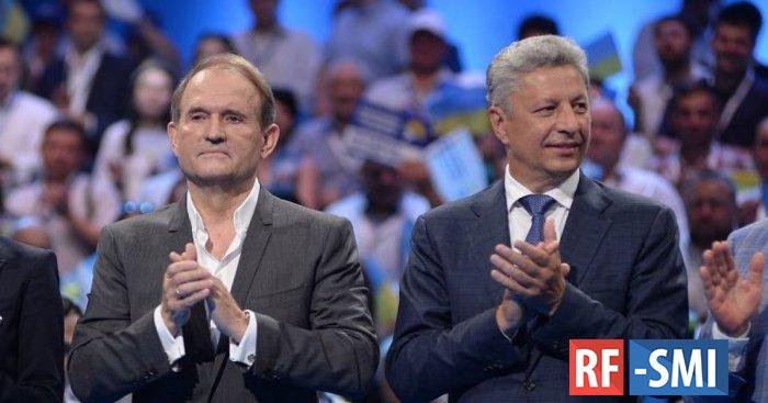 Избиратели уходят от  «Слуги народа» к «Оппозиционной платформе».