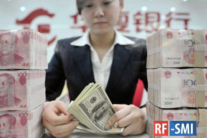 Китай превратился в крупнейшего мирового кредитора