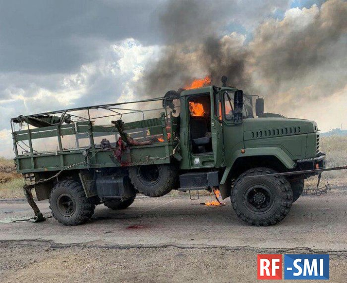На Донбассе обстреляна автоколонна с украинским гауляйтером, есть жертвы
