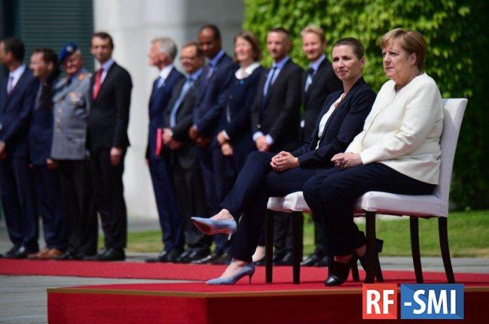 Ради дрожащей Меркель изменен протокол встреч с лидерами стран