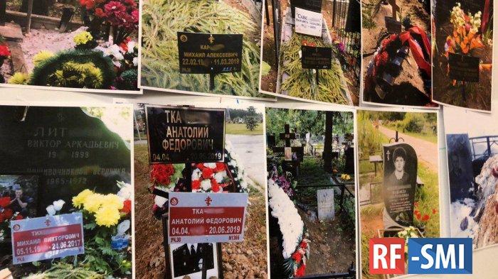 Соболь нашла недостающих избирателей на московских кладбищах