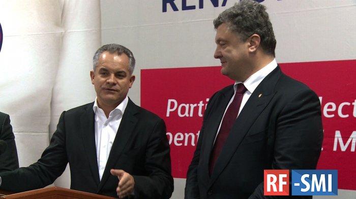 Молдавский друг и партнер Петра Порошенко  В. Плахотнюк сбежал в США