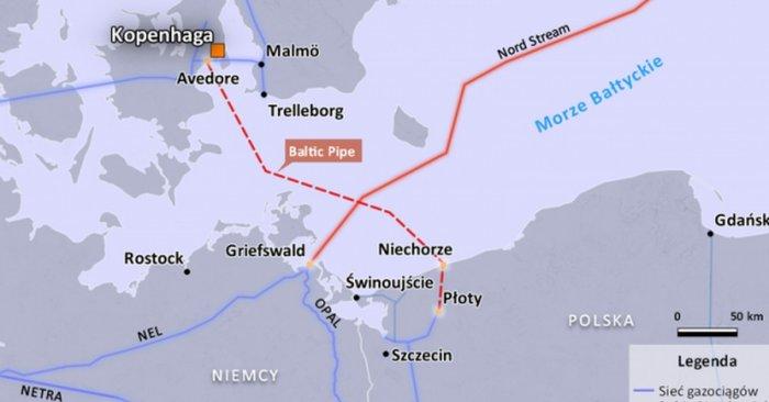 Дания дала разрешение на строительство норвежского газопровода
