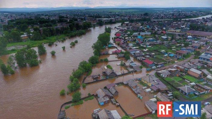 Жителей Тулуна эвакуируют из-за угрозы нового паводка