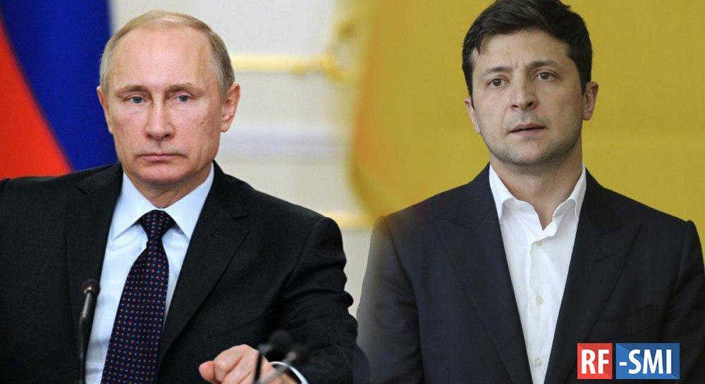 Зеленский провел телефонный разговор с Путиным