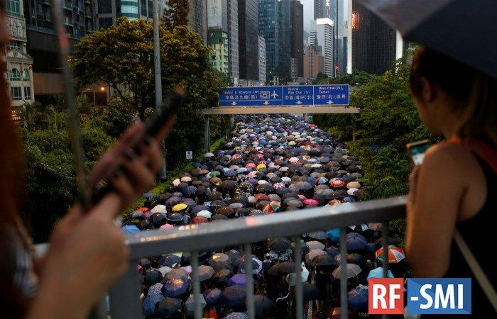 В Пекине назвали четырех ключевых организаторов протестов в Гонконге