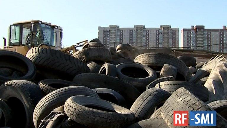 В Петербурге вывезут более 35 тонн мусора с незаконной свалки