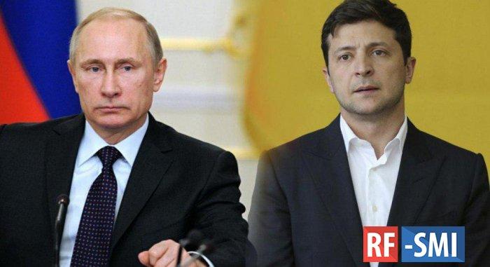 Названа запретная тема в переговорах Путина и Зеленского