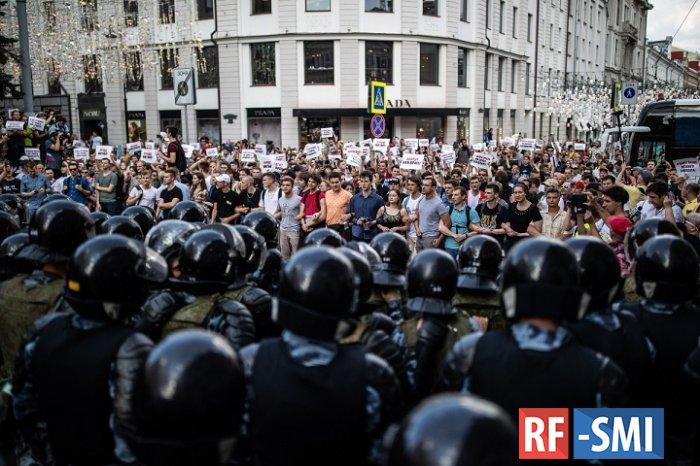 Полиция предупреждает о недопустимости призывов к несанкционированным акциям