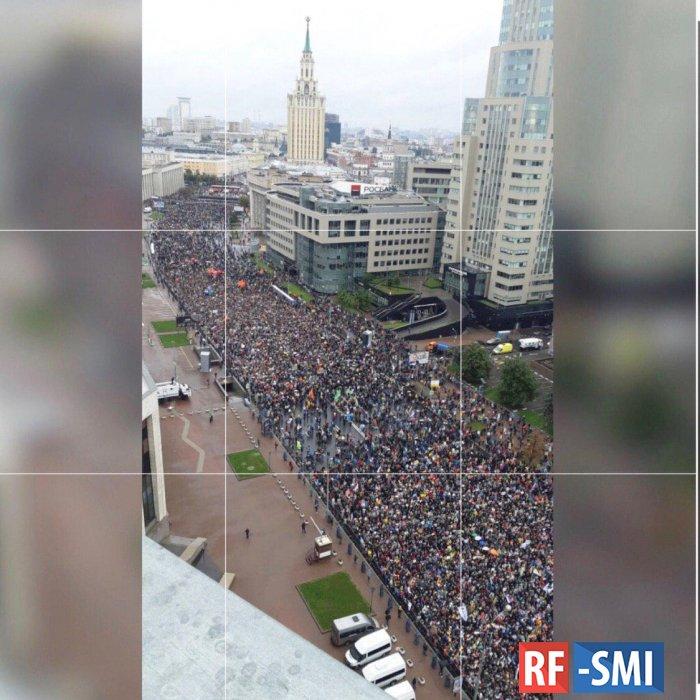 Методика подсчета демонстрантов оказывается существует