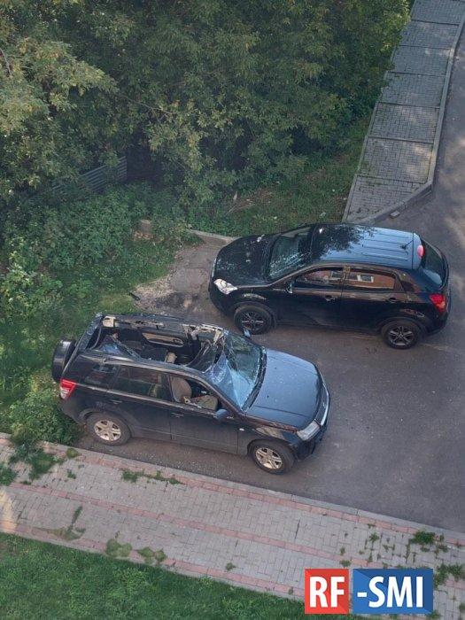 В Раменском невменяемый гражданин спрыгнул с 13 этажа и остался жив