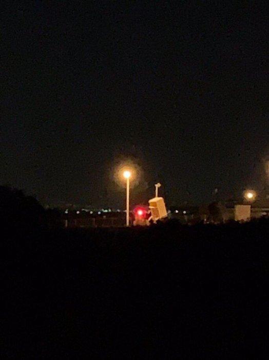Сегодня ночью Израиль атаковал пригород  Дамаска.