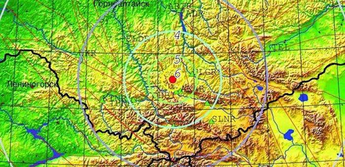 Ощутимое землетрясение произошло в Республике Алтай