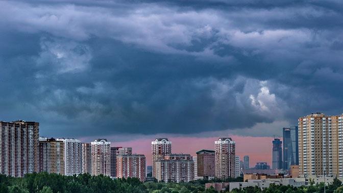 Атмосферное давление в Москве опустилось на «барическое дно»