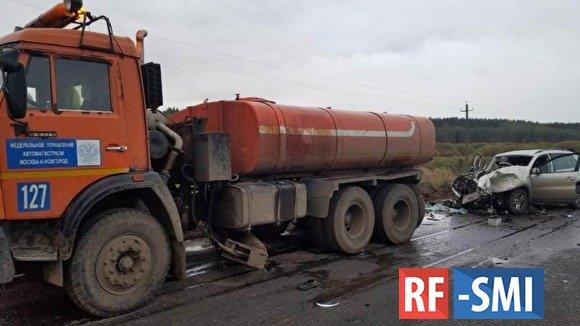 Два сотрудника СК погибли на трассе в Ивановской области