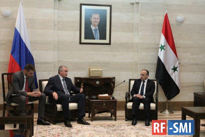 Сирия и Крым заключили сделку на экспорт товаров в Россию из САР