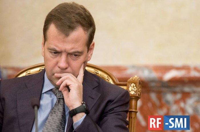 У российского премьера Д. Медведева снова ничего не складывается