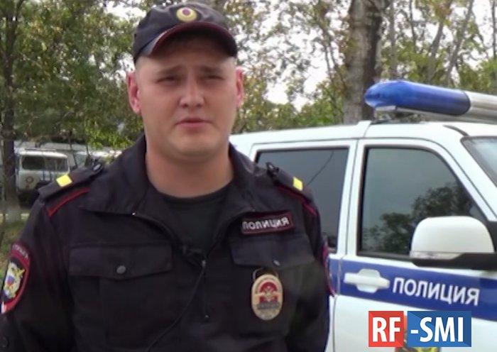 В торговом центре Хабаровска полицейский во внеслужебное время задержал преступника