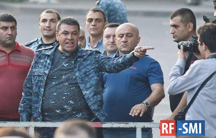 На экс-главу Полиции Армении В. Гаспаряна возбудили уголовное дело