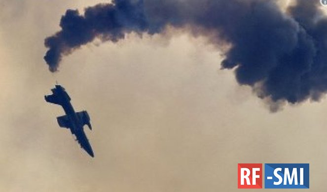 В Германии разбился истребитель, принадлежавший ВВС США