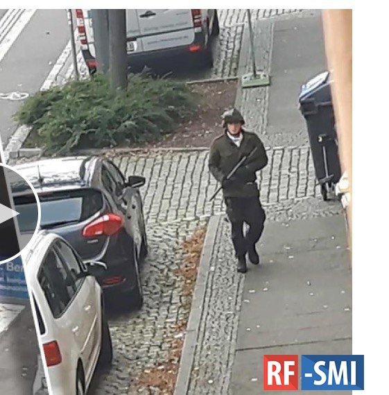 Стрельба в немецком городе Галле