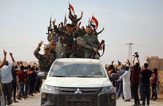 Сирийская армия вошла в Манбидж